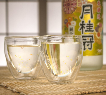 Gold Flakes Sake
