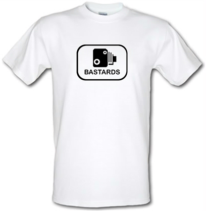 Bastards Speed Camera T Shirt