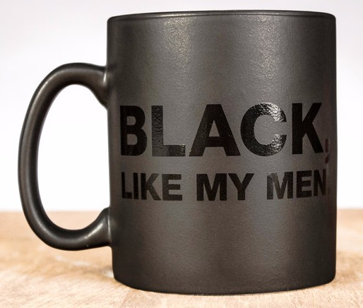 Black Like My Men Mug