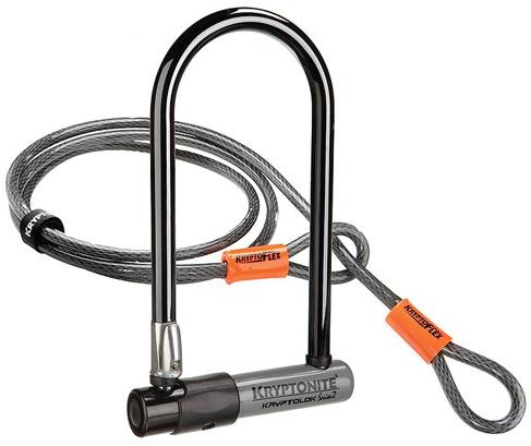 Kryptonite Bike Lock with 4-Foot Kryptoflex Cable