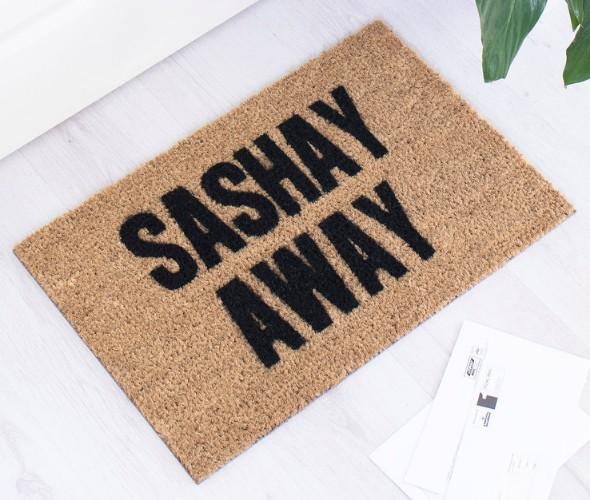Sashay Away Doormat